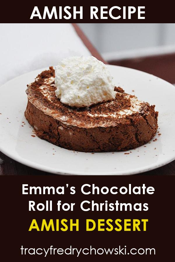 Amish Chocolate Roll