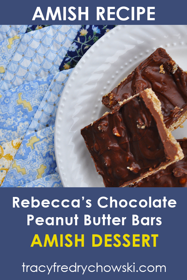 Amish Peanut Butter Bars