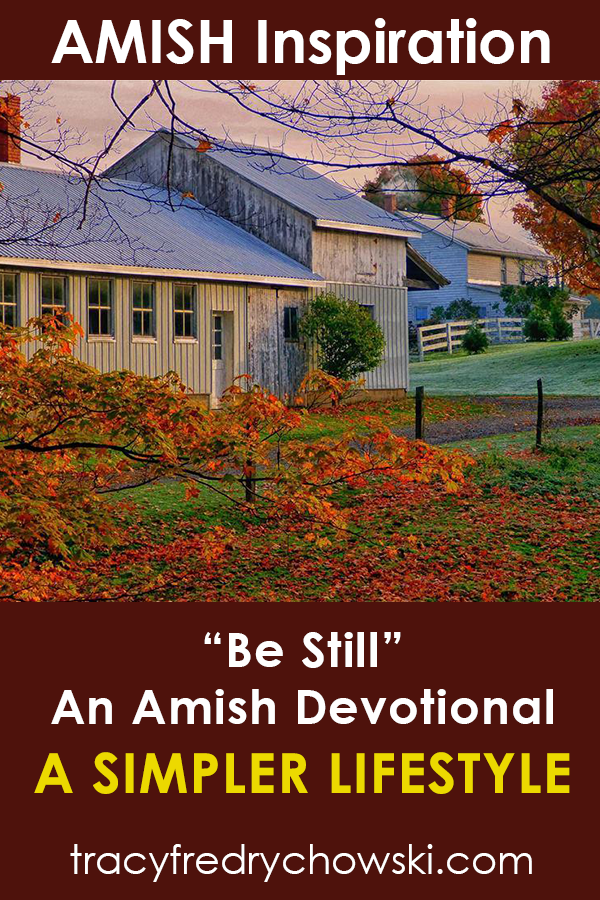 Be Still: An Amish Devotional