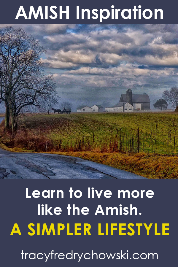 Learn to live like the Amish.
