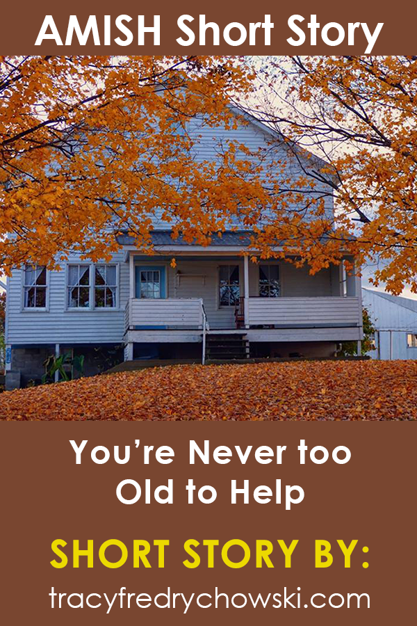 You're Never Too Old to Help