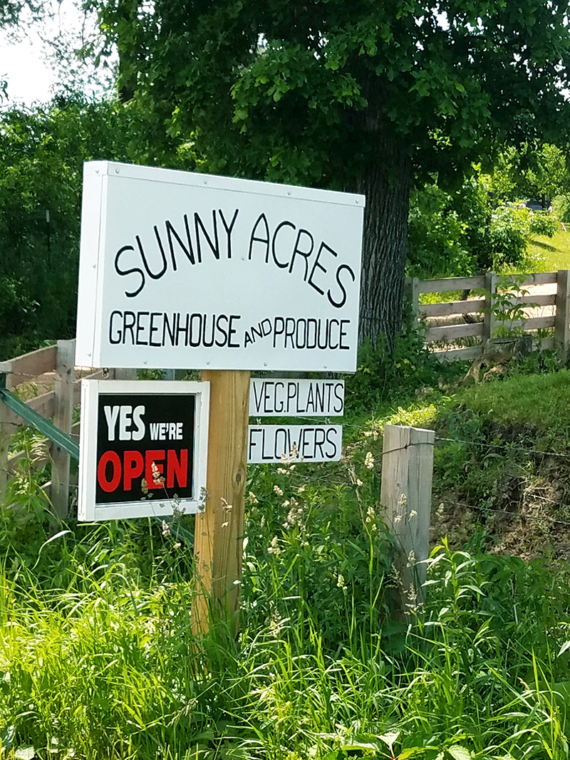 Sunny Acres Greenhouse