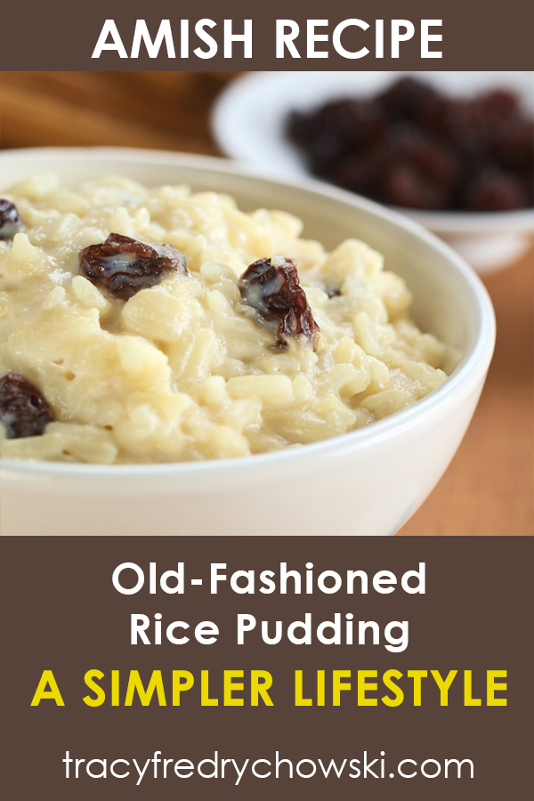 Old-Fashioned Amish Rice Pudding