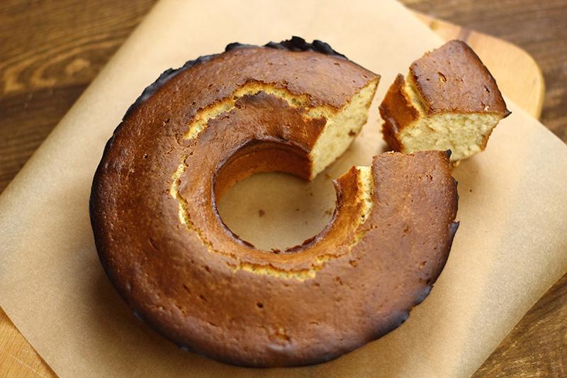 Amish Sour Cream Pound Cake