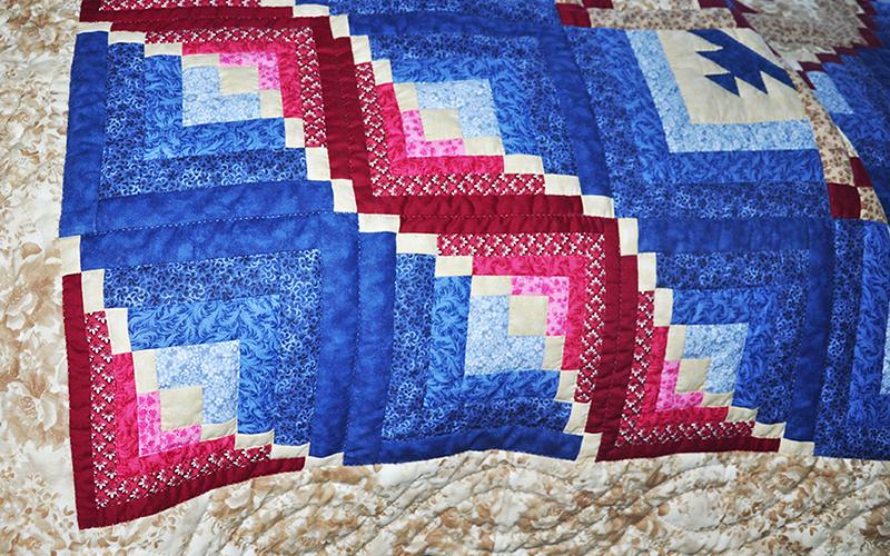 Handmade Amish Quilt – Queen Size, Eureka