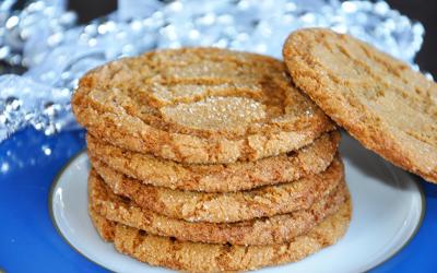 Amish Ginger Crinkles